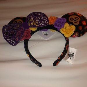 Cocoa Disney Day of the Dead Mickey Halloween Ears